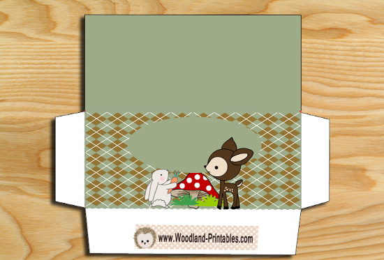 Free Printable Woodland Candy-Wrappers