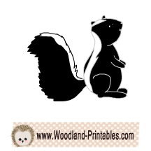 Free Skunk Clipart
