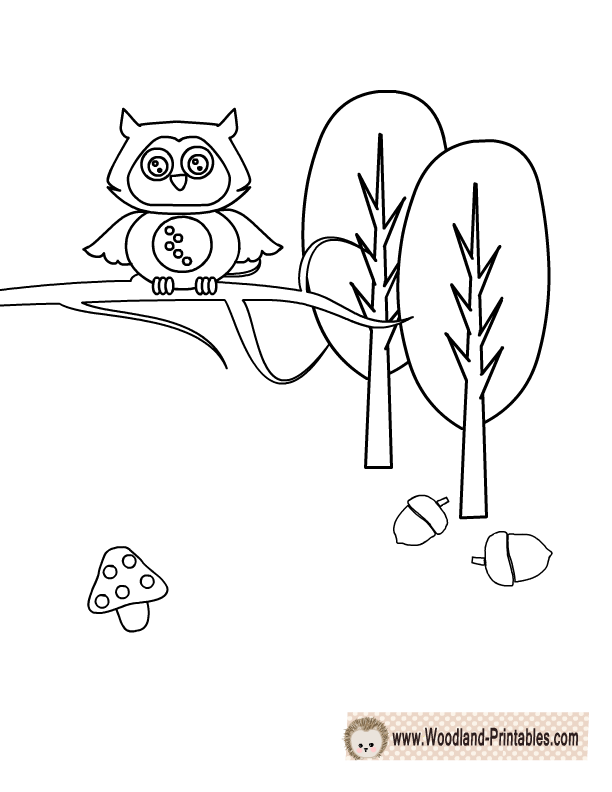 Free Printable Woodland Animals
