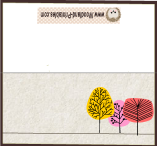 Cute Free Printable Woodland Party Place Cards