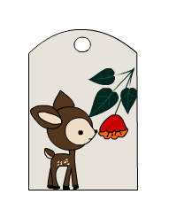 Cute Free Printable Woodland Animals Gift Tags