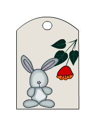 Gift Tags featuring Rabbit