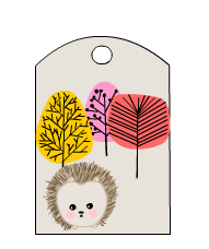 Bookmarks featuring Hedgehog