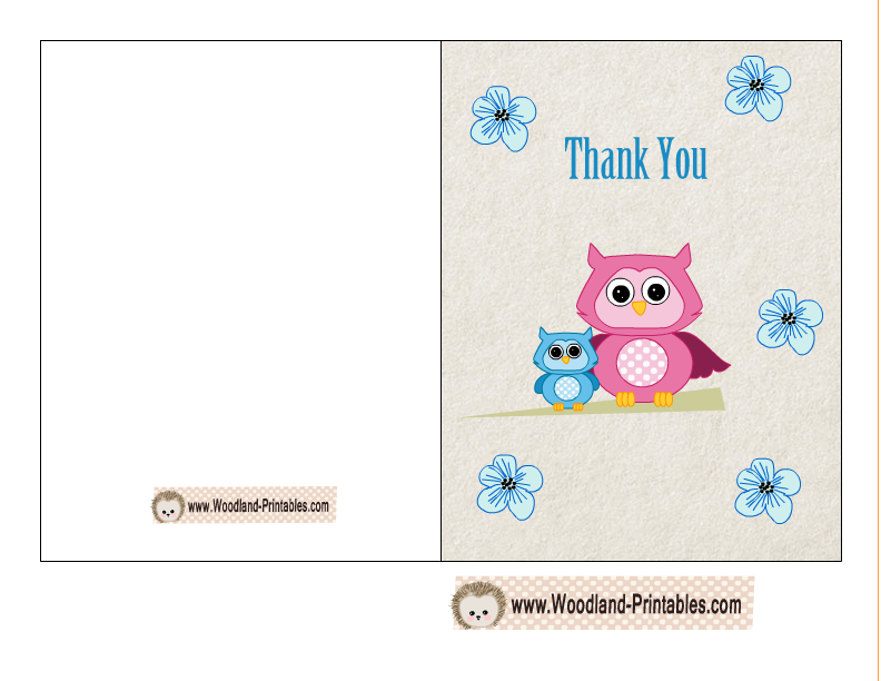 this is the same thank you card for a boy baby shower party