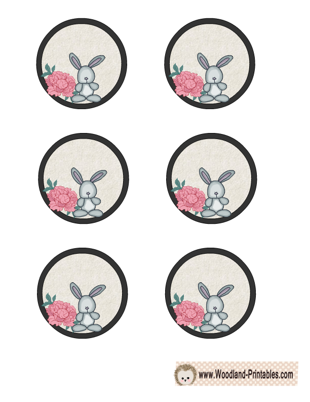 Free Printable Cute Woodland Creatures