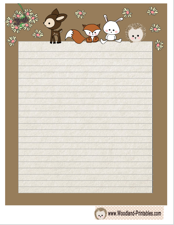 cute writing paper Explore our massive collection of free printable writing paper for boys and girls of all ages print out a page or two when you need them, or keep a stash for rainy.